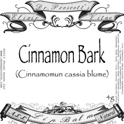 cinnamon bark lip balm